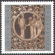 Austria 2011 Religious Art/ Bronze Relief/ Carving/ Artists/ Church/ People 1v n42535