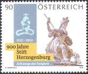 Austria 2012 Herzogenberg Priory/ St George/ Dragon/ Statues/ Heritage/ History/ Art/ Carving/ Sculpture 1v (n42441)