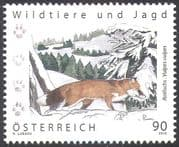 Austria 2012 Red Fox/ Animals/ Nature/ Hunting/ Wildlife/ Conservation/ Environment 1v (n42214a)
