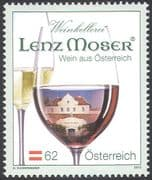 Austria 2012 Wine/ Alcohol/ Drink/ Building/ Grapes/ Architecture/ Business 1v (n42215a)