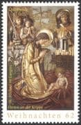 Austria 2013 Christmas/ Greetings/ Nativity/ Art/ Stable/ Shepherds/Altar 1v (at1087)