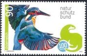 Austria 2013 Kingfisher/ Birds/ Nature/ Wildlife/ Conservation/ Environment 1v (at1023)