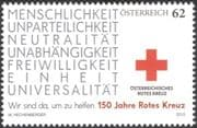Austria 2013 Red Cross 150th Anniversary/ Medical/ Health/ Welfare 1v (at1080)