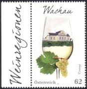 Austria 2014 Wine/ Alcohol/ Drink/ Grapes/ Plants/ Palace/ Buildings/ Food 1v (at1050)