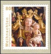 Austria 2015 Christmas/ Greetings/ Madonna/ Child/ Altar Carving/ Art 1v s/a (at1121)