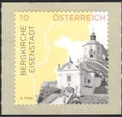 """Austria 2015 """"Hill Church""""/ Buildings/ Architecture/ Tourism/ Heritage/ Religion 1v s/a (at1059)"""