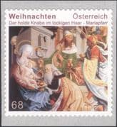 Austria 2016 Christmas/ Greetings/ Nativity/ Kings/ Magi/ Wise Men/ Painting/ Art/ Artists 1v s/a (at1226)