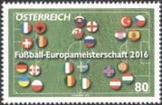 Austria 2016 EURO 2016 Football Championships/ Pitch/ National Flags/ Soccer 1v (at1173)