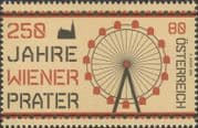 Austria 2016  Prater Park, Vienna/ Ferris Wheel/ Fair/ Leisure/ Tourism/ Engineering 1v (at1295)