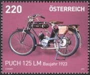 Austria 2016 Puch 125 LM/ Motorcycles/ Motor Bikes/ Motoring/ Transport 1v (at1102)