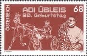 Austria 2017  Adi Ubleis 80th/ Trotting/ Sports/ Racing/ Horses/ Animals/ Nature/ People 1v (at1296)