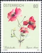Austria 2019  Common Poppy/ Flowers/ Poppies/ Plants/ Nature 1v (at1164a)