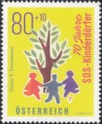 Austria 2019   SOS Children's Villages/ Welfare/ Health/ Animation/ People  1v  (at1228a)