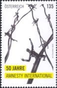 Austria 2020  Amnesty International/ Human Rights/ People/ Barbed Wire  1v  (at1179a)
