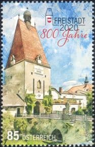 Austria 2020  Freistadt 800th Anniversary/ Town Gate/ Tower/ Buildings/ Architecture  1v (at1182a)