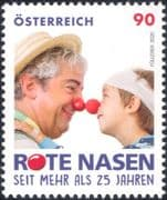 Austria 2020  Red Noses Clown-Doctors/ Medical/ Charity/ Health/ Welfare 1v (at1330)