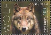 Austria 2021  Europa/ Endangered Animals/ Wolf/ Nature/ Wildlife/ Wolves  1v  (at1196a)