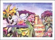 """Azerbaijan 1995 """"Singapore '95"""" Exhibition/ Orchids/ Flowers/ Nature/ StampEx  1v m/s (b2352)"""