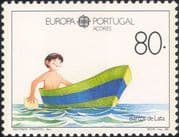 Azores (Portugal) 1989 Europa/ Children's Games/ Boat/ Toys/ Sailing/ Boating 1v (n21604)