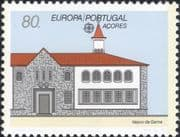 Azores (Portugal) 1990 Europa/ Post Office Buildings/ Architecture 1v (n21611)