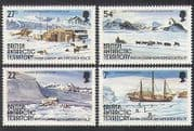 BAT 1985 Planes  /  Ships  /  Dogs  /  Sled  /  Antarctic Research  /  Buildings  /  Transport 4v n36363