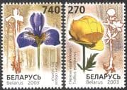 Belarus 2003 Endangered Flowers/ Iris/ Nature/ Conservation/ Environment 2v set (n13173)