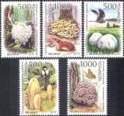 Belarus 2010 Endangered Fungi/ Mushrooms/ Birds/ Butterfly/ Nature/ Plants/ Conservation 5v set (n44000)