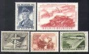 Belgium 1957 General Patton  /  Tanks  /  Tank  /  Military Vehicles  /  Army  /  WWII 5v set n37616