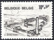 Belgium 1979 Le Grand-Hornu/ Industry/ Business/ Buildings/ Heritage/ History/ Commerce 1v (n43117)
