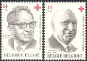 Belgium 1987 Red Cross Fund/ Medical/ Health/ Nobel Prize/ People 2v set (n32564)