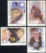 Belgium 1992 Olympic Games/ Olympics/ Sports/ Shooting/ Tennis/ Skating/ Baseball 4v set (be1003)
