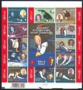 Belgium 2006 Sports  /  Billiards  /  Snooker  /  World Champions  /  People12v sht (n32735)