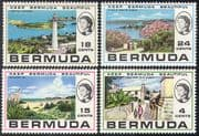 Bermuda 1971 Lighthouses/ Harbour/ Bay/ Maritime Safety /Buildings/ Architecture/ Tourism 4v set n41597