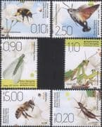 Bosnia 2020 Bees/ Bumblebee/ Moth/ Mantis/ Lacewing/ Earwig/ Insects/ Wildlife  6v set (bhs1031)
