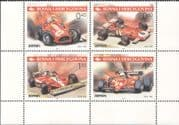 Bosnia Herzegovina 2001 Ferrari/ Sports Cars/ Motoring/ F1/ Motor Racing/ Transport 4v blk (s5044f)
