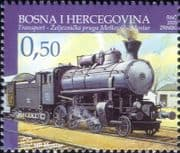 Bosnia & Herzegovina 2005 Trains/ Railways/ Rail/ Steam Engine/ Transport 1v (b137e)