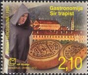 Bosnia & Herzegovina 2012 Gastronomy/ Trappist Cheese/ Food/ Monks/ Monastery/ Buildings/ Architecture 1v (b2756n)