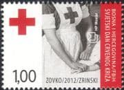 Bosnia Herzegovina 2012 Red Cross Day/ Nurse/ Medical/ Health/ Welfare 1v (b2756b)