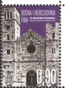 Bosnia Herzegovina 2015 Monks/ Monastery/ Buildings/ Architecture/ WWII 1v( b2756z)