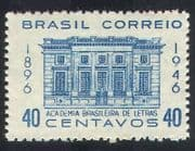 Brazil 1946 Academy of Arts  /  Building  /  Architecture  /  Heritage  /  Art 1v (n38929)