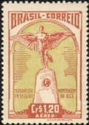 Brazil 1947  Santos Dumont/ Planes/ Aircraft/ Aviation/ People/ Statue 1v (n46319)