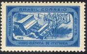 Brazil 1955 Hydro-Electric/ Dams/ Energy/ Power/ Industry/ Electricity 1v (n28015)