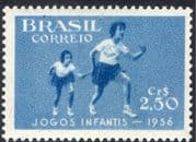 Brazil 1956 Sixth Children's Games/ Sports/ Athletics/ Running 1v (n28016)