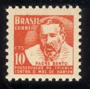 Brazil 1957  Leprosy Week/ Medical/ Health/ Welfare/ People/ Medicine/ Tax 1v (n46321)