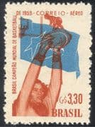 Brazil 1959 Sports/ World Basketball Championships/ Winners/ Animation 1v (n31679)