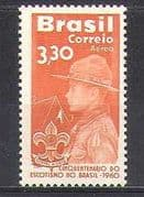 Brazil 1960 Scouts 50th Anniversary/ Youth/ Camp/ Scouting/ Leisure/ People 1v (n24606)