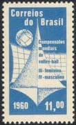 Brazil 1960 World Volleyball Championships/ Sports/ Games/ Animation 1v (n32002)