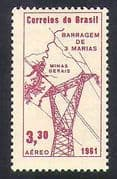 Brazil 1961 Electricity  /  Power  /  Energy  /  Hydro-Electric  /  Commerce  /  Industry 1v n38237