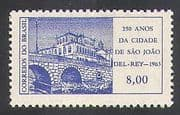 Brazil 1963 Bridge  /  Transport  /  Building  /  Engineering  /  Architecture  /  History 1v n38093