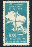 Brazil 1963 Medical  /  Health  /  Welfare  /  Leprosy 1v  (n32338)